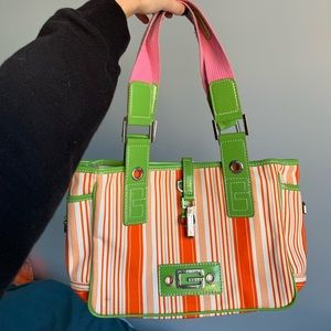 GUESS Retro Tote with Detachable Pouch
